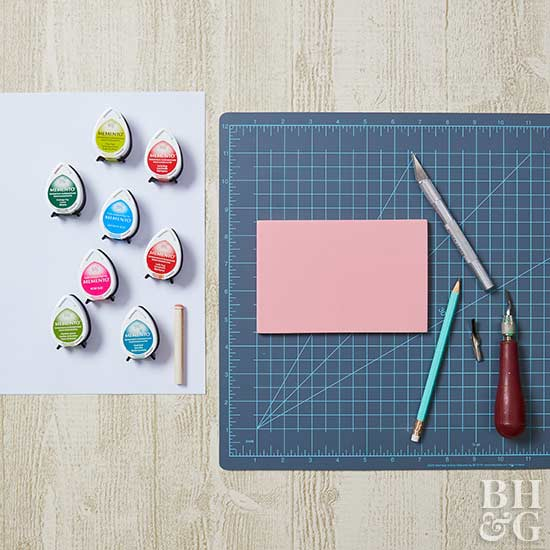 DIY stamp, stamps, cutting stamps