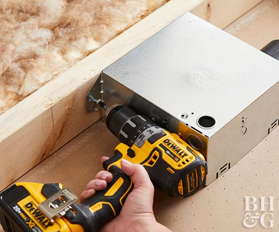 How to Electrical work, Electrical, putting in light, wiring