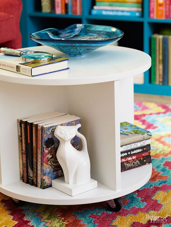 Build A Storage Ottoman Better Homes Gardens
