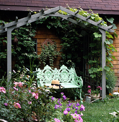 How To Build A Simple Entry Arbor Better Homes Gardens