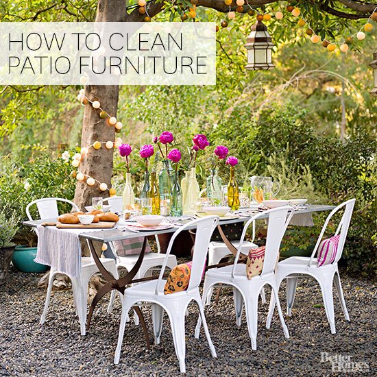 Awe Inspiring How To Clean Outdoor Furniture Better Homes Gardens Short Links Chair Design For Home Short Linksinfo