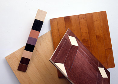 Solid Strip Flooring Samples