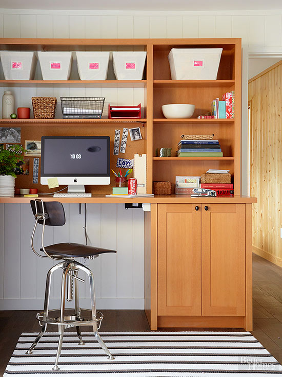 small office area