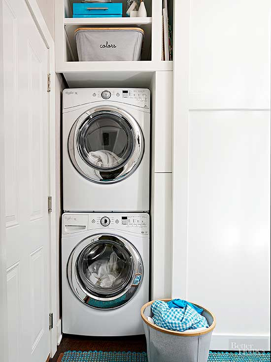 Small Laundry Room Ideas Better Homes Gardens