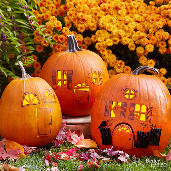 Side-by-Side Style Pumpkins
