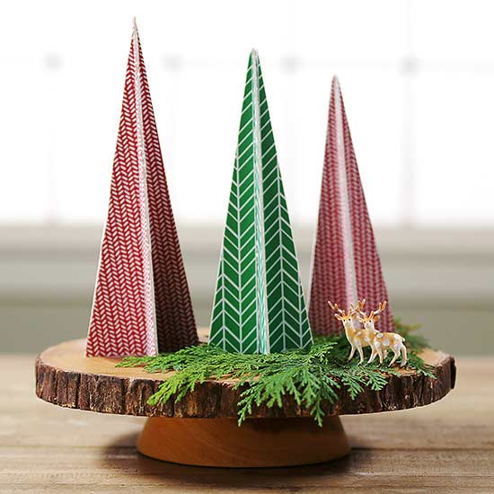 Cheap Tabletop Trees Using Balsa Wood