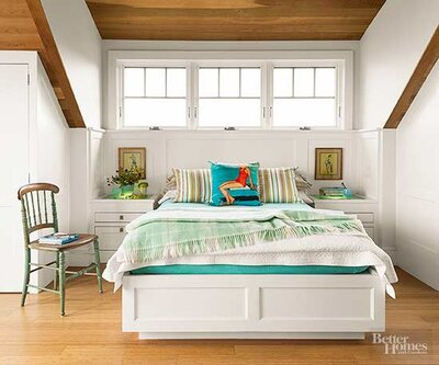 . How to Decorate a Small Bedroom   Better Homes   Gardens