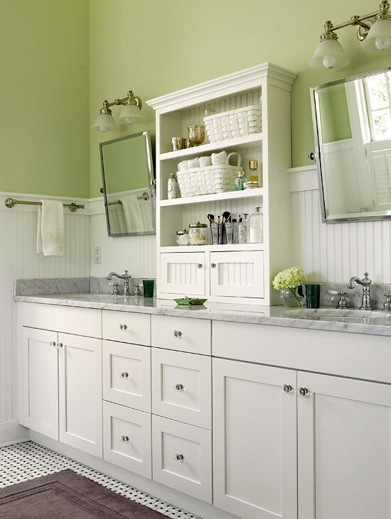 Pastel Green Bathroom