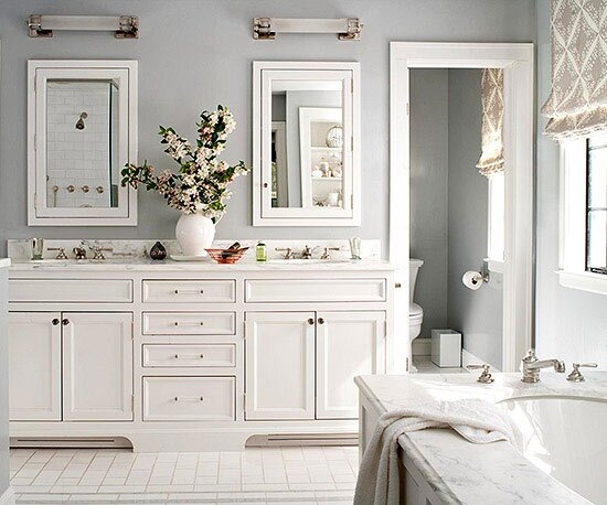 Soothing Bathroom Color Schemes Better Homes Gardens