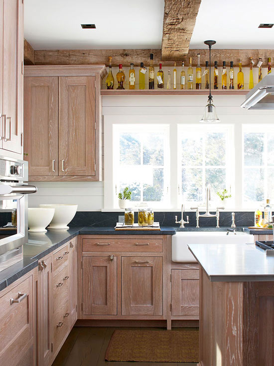 Rustic Cabinets Better Homes Gardens