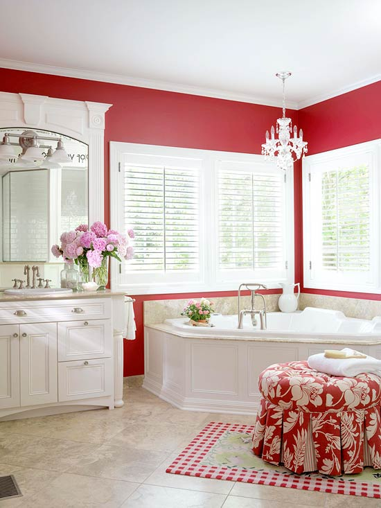 Red Bathroom Design Ideas Better
