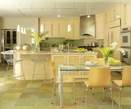 Sage + Maple Gold Kitchen