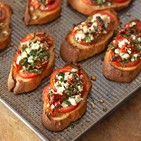 Two-Tomato Bruschetta