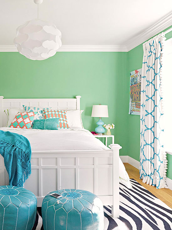 Real-Life Colorful Bedrooms
