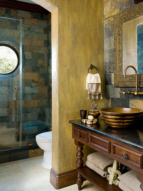 Small Bathroom Ideas Traditional Style Bathrooms Better Homes Gardens