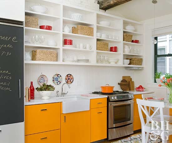 How To Organize Kitchen Cabinets Better Homes Gardens