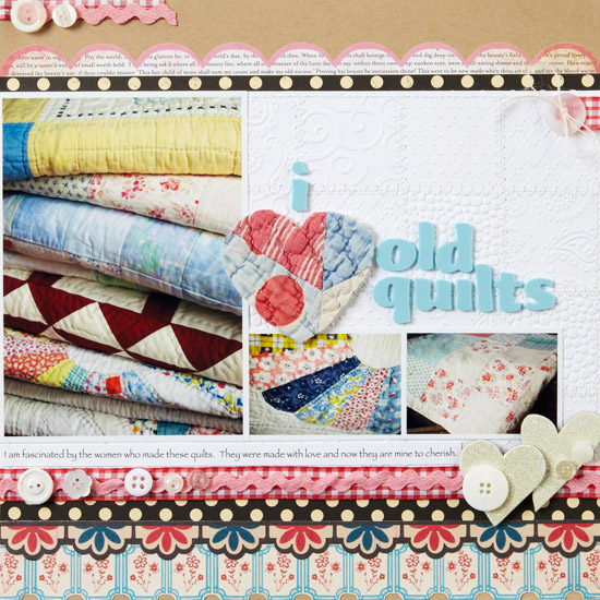 Quilting Love Page