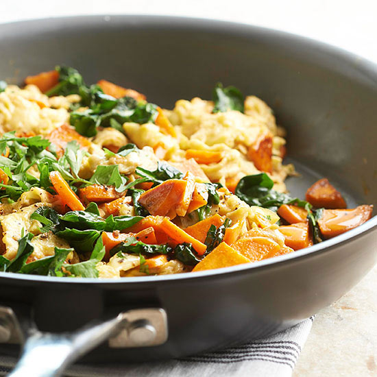 Savory Egg and Sweet Potato Scramble