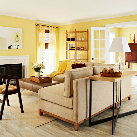 Before and After Living Room Makeover: Winter Decorating Ideas