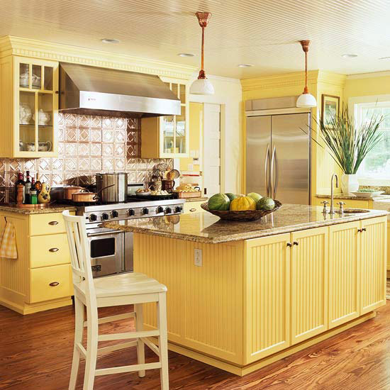 Yellow Kitchen Design Ideas Better Homes Gardens