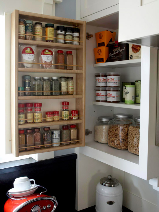 Space Savvy Ways To Store Spices Better Homes Gardens