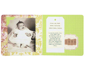 Cover Board-Book Pages with Patterned Paper