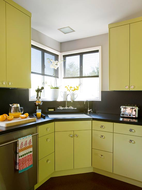 Contemporary Chartreuse