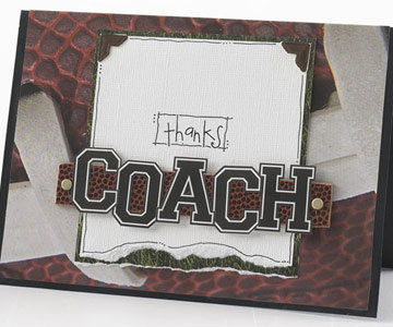 Thanks, Coach Card
