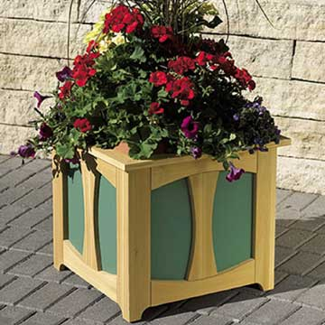 Patio-Perfect Planter