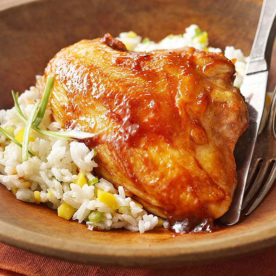 Barbecue-Chutney Chicken,