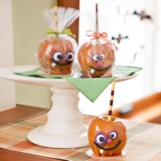 Caramel Apple Party Favors