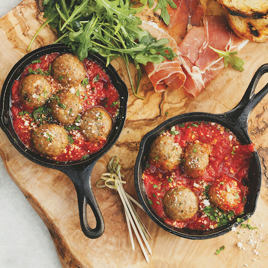 Catelli's Mini Summer Meatballs