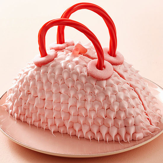 Furry Purse Cake