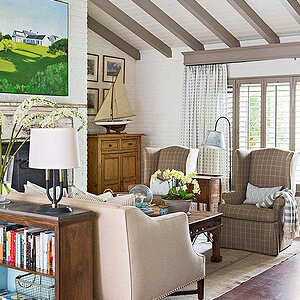 Quick And Easy Living Room Decorating Ideas Better Homes Gardens
