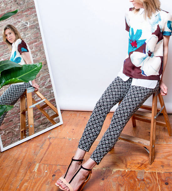 The Patterned Pant