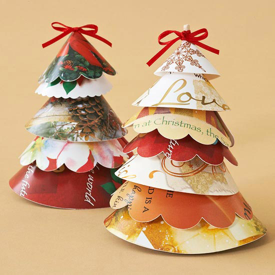 Christmas Card Trees
