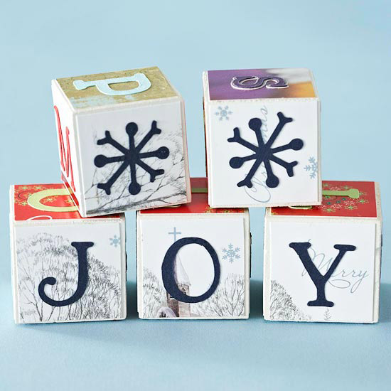 Christmas Card Blocks