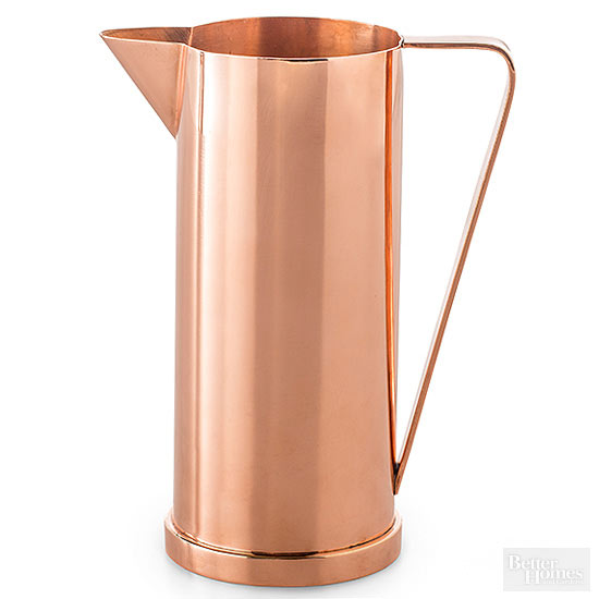 rose gold carafe