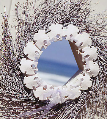 Sand Dollar Wreath