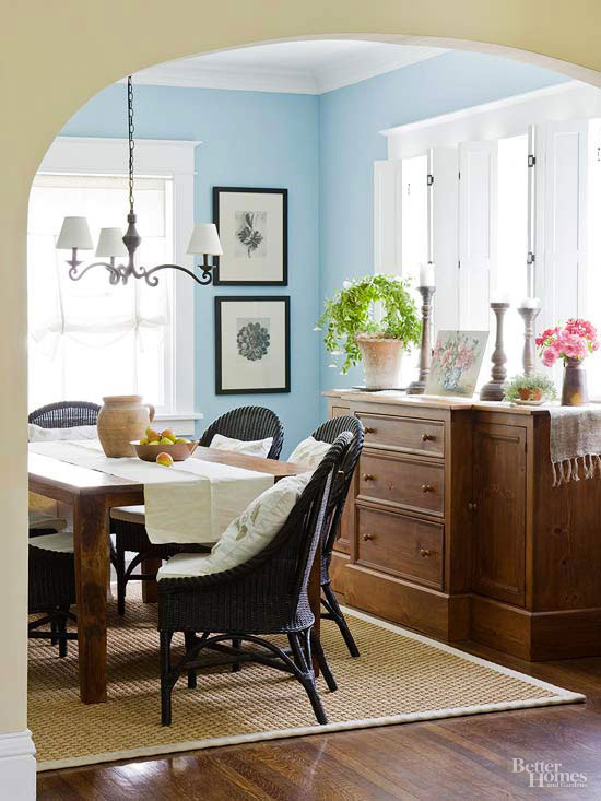 overall of dining room