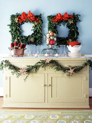 Dual Square Wreaths