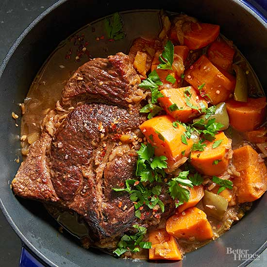Coffee Braised Pot Roast