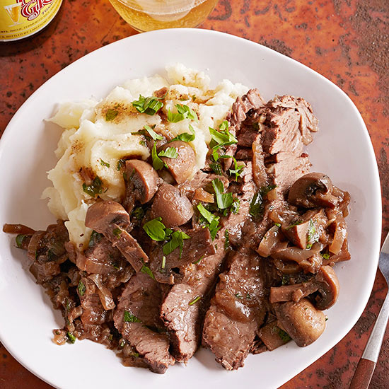 Gluten Free Wine-Braised Brisket with Onions