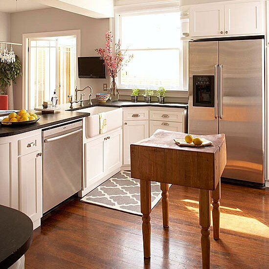 Small Space Kitchen Island Ideas Bhg Com