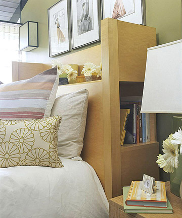 Get More from a Multifunctional Headboard