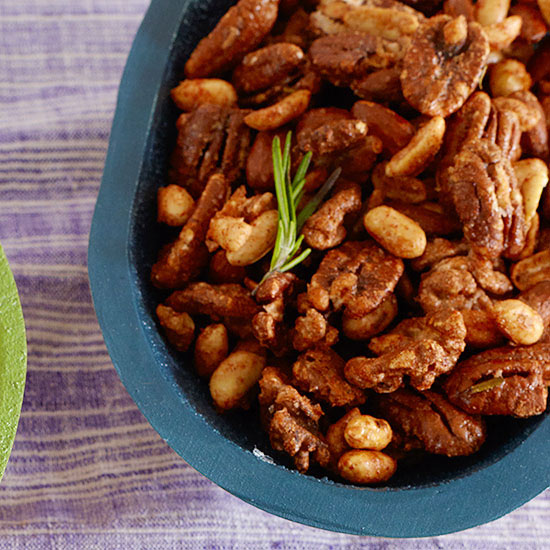Sweet and Smoky Nut Mix