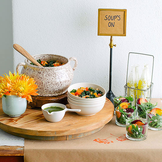 Soup and salad party