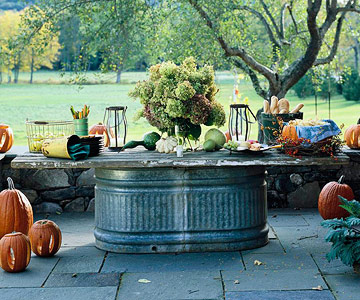 Make a Harvest Table