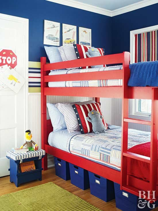 Swell Make The Most Of Shared Kids Rooms With These Smart Ideas Ocoug Best Dining Table And Chair Ideas Images Ocougorg