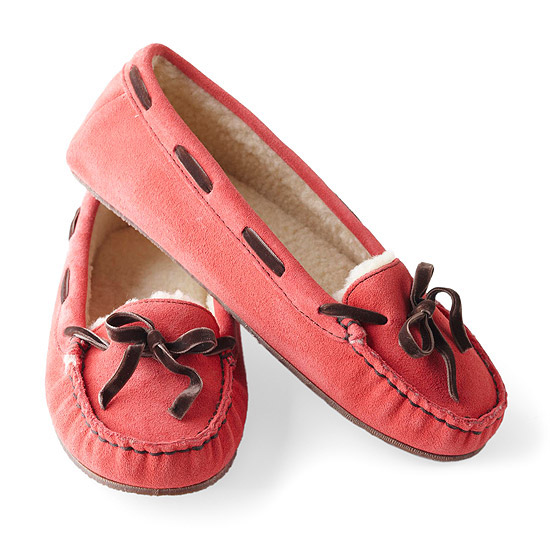 Moccasin-Style House Slippers